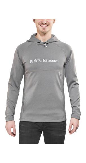 Peak Performance Will Hood - Sweat-shirt Homme - gris
